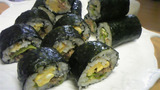 巻き寿司完成