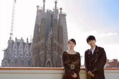 吉岡里帆、スペインで吉沢亮と2ショットに大反響「美男美女!」