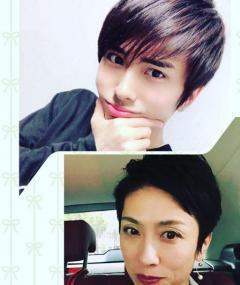 蓮舫氏 俳優デビューの息子との「見比べ写真」をインスタグラムにアップ