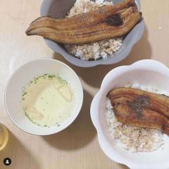 """加藤紗里、インスタ映えしない""""うな丼""""を公開して大反響「このくらいがいい」「食べづらそう」"""