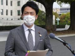 小泉進次郎「私の立場で政治的な発言は差し控えたい」