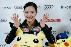 本田真凜、美腹筋&ドアップ笑顔にドキリ…飾らない姿が「かわいすぎる」