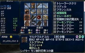 サーラ1狩人装備STR特化