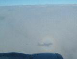 plane's shadow