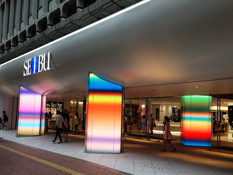 西武渋谷店「カールステン・ニコライ」アートゲート1
