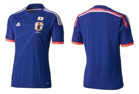 2014・サッカー・日本代表・ユニフォーム・デザイン