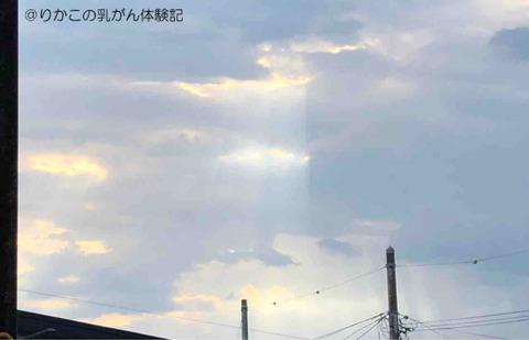 2018/06/24 きのうの空
