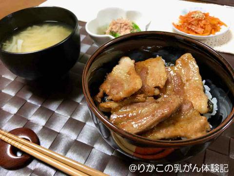 2019/11/14 豚 丼