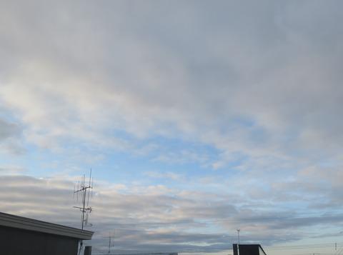 朝5時の空