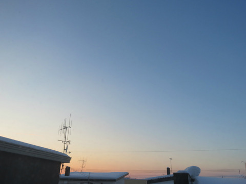 早朝の月 ④