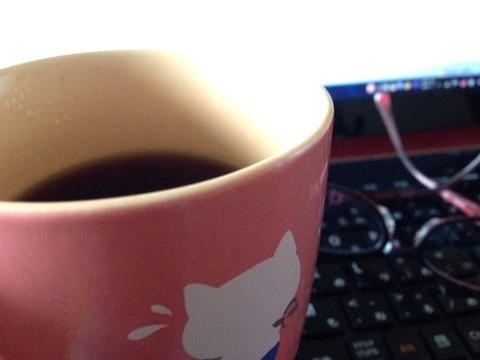 眠気覚ましの朝コーヒー