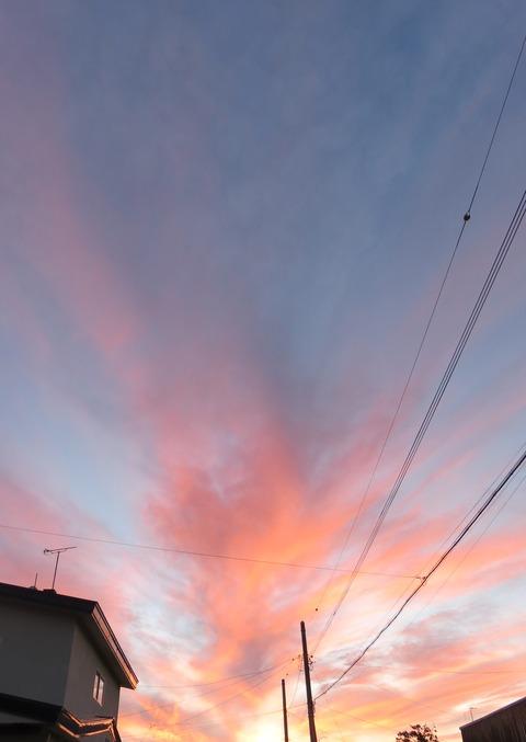 秋の夕暮れ ①