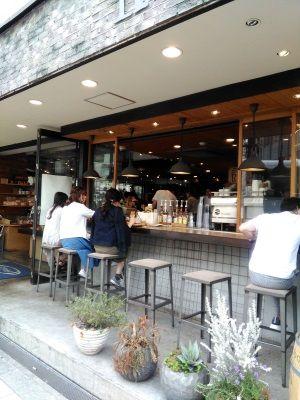 3お目当てのカフェ