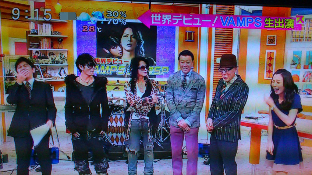 VAMPS☆スッキリ!生パフォーマンス : ††† Metropolis of android †††