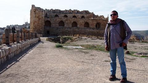 モスクの壁跡