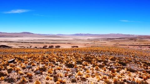 チリ北部国境付近