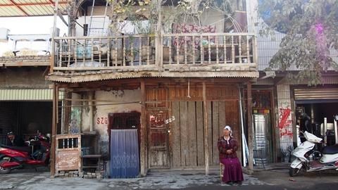 ヤルカンド 昔ながら建物