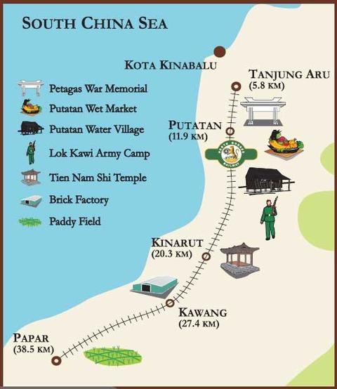 North_Borneo_Railway_Route_Map