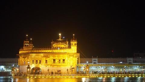 夜 寺院3