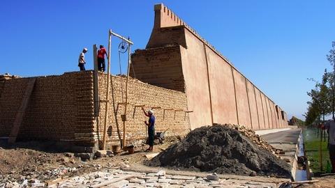 アクサライ 城壁