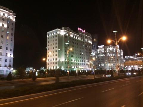 Ashgabad_Nightview