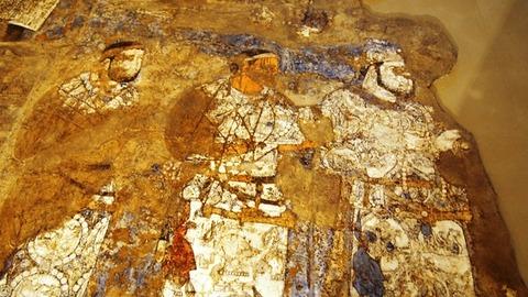ソグド人の壁画2