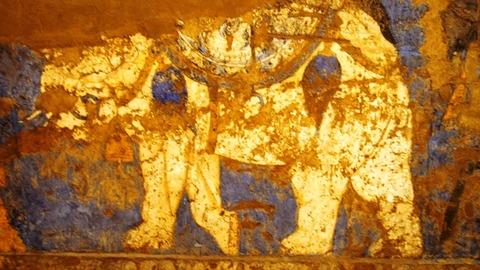 ソグド人の壁画5