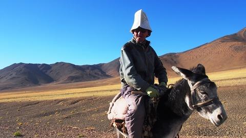 キルギス人のおじさん