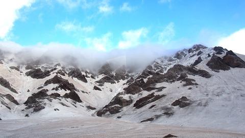 サリタシュから望む雪山