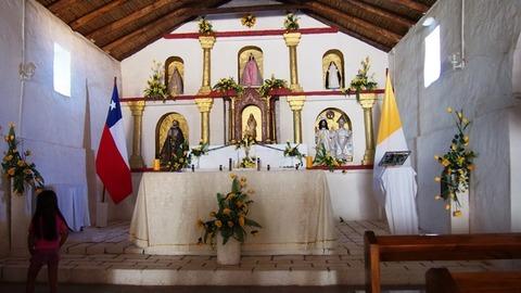 トコナオ村 教会内部