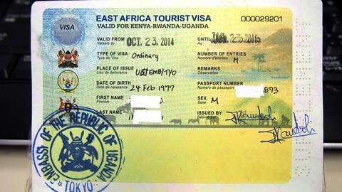 東アフリカ観光ビザ