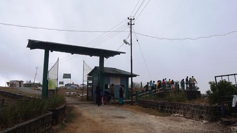 滝展望台への入り口