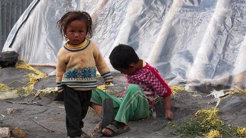 ナンダワ村 子供