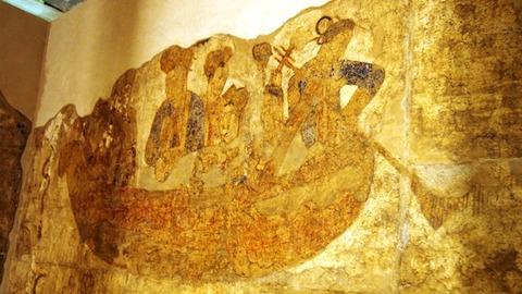 ソグド人の壁画3