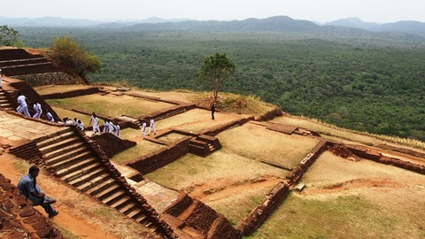 Sigiriya_Rock_Top