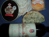 シャトープレサックとチーズ達