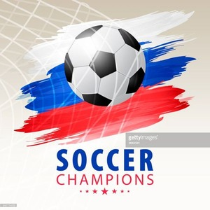 soccer-ball-in-net-russian-background-vector-id947714032