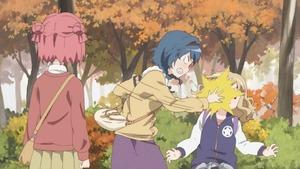 赤座 あかり、古谷 向日葵、大室 櫻子