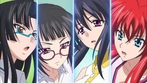 リアス・グレモリー、姫島 朱乃、支取 蒼那、真羅 椿姫