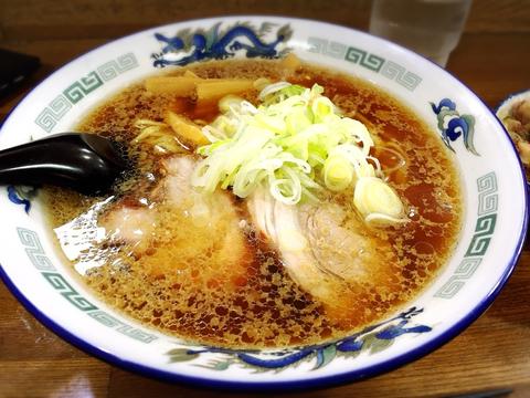 八屋_醤油ラーメン