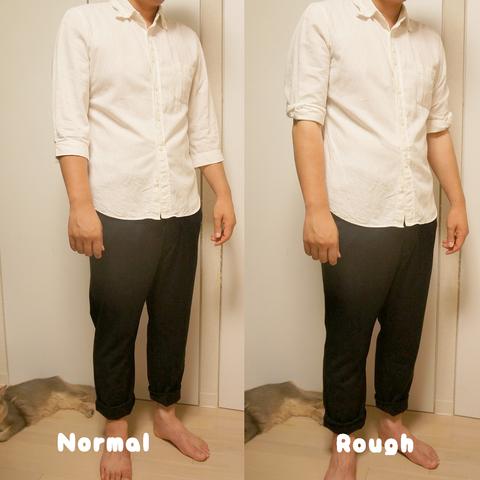 3-白シャツで比較