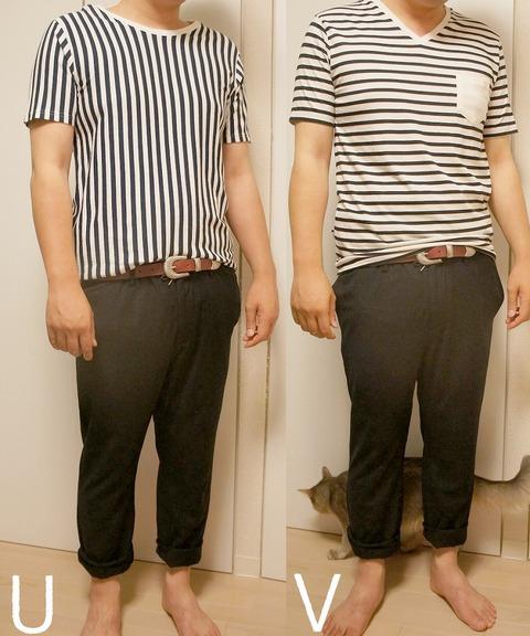 1- 衿ぐりの形で比較