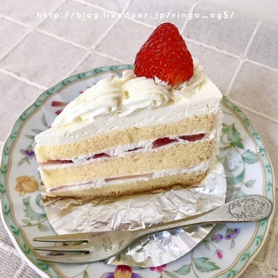 お菓子の田園 ショートケーキ