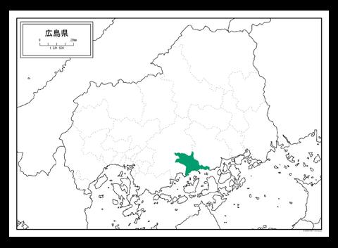 竹原市地図