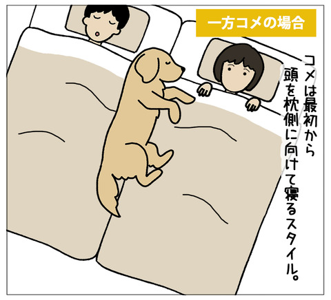 寝相の違い04