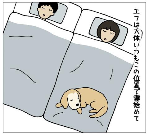 寝相の違い01