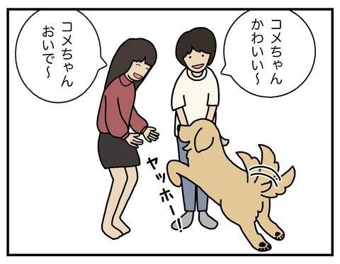 あからさまな犬03
