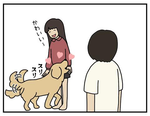 あからさまな犬05