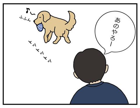 得意げな犬05