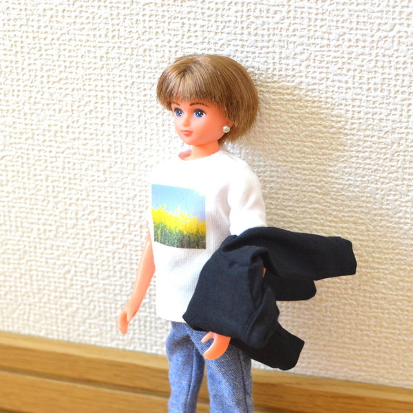 リカちゃんボーイフレンド Tシャツとジャケット